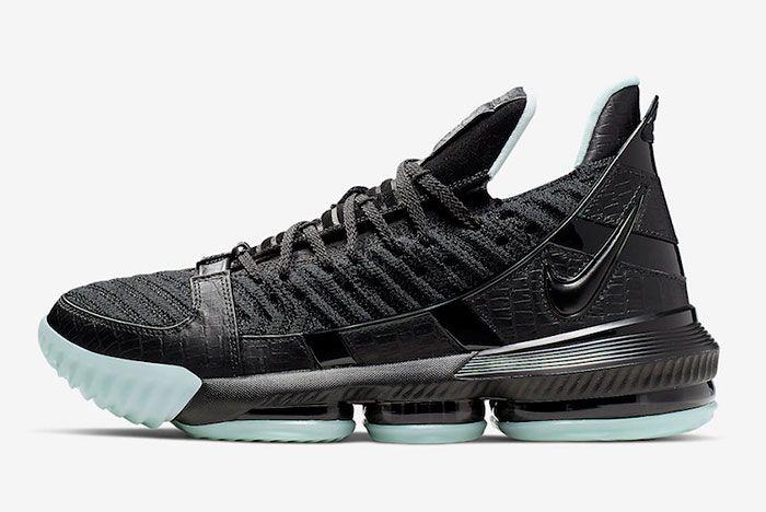 Nike Lebron 16 Glow In The Dark Left