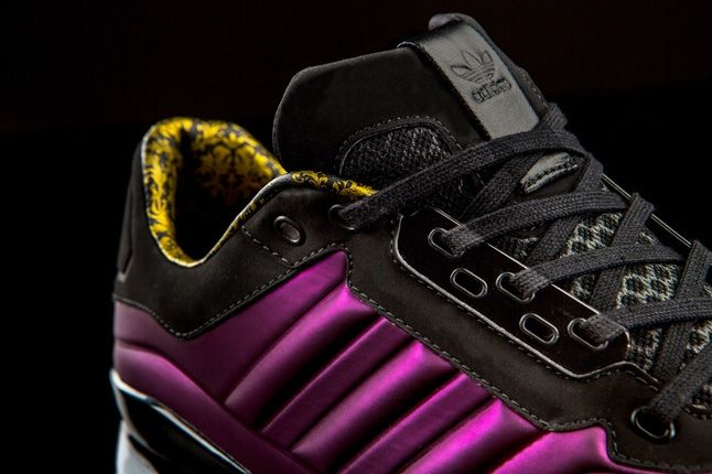 Adidas Originals T Zx Runner Amr Purple Ankle Detail 1