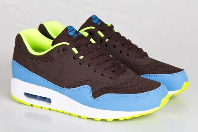 Nike Air Max 1 Baroque Brown Uni Blue 6