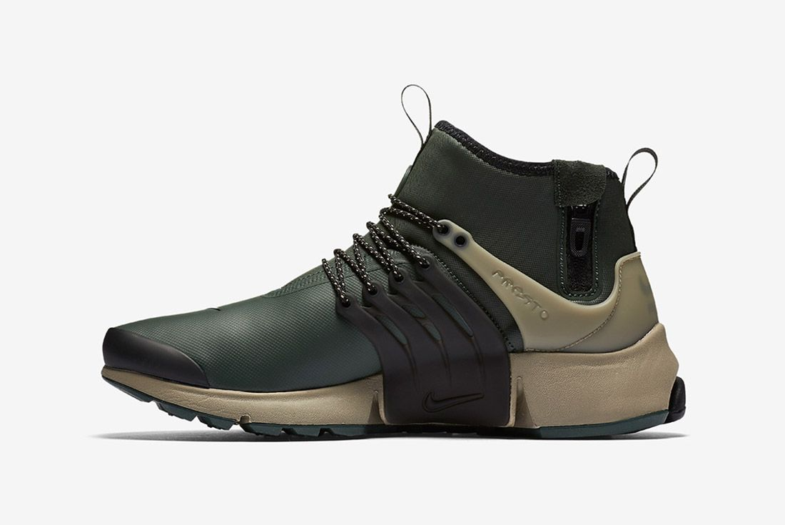 Nike Air Presto Utility Mid Grove Green 4