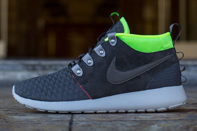Nike Roshe Run Mid Winter Smokey Volt 1