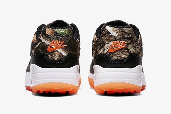 Nike Air Max 1 Golf Realtree Camo Heels