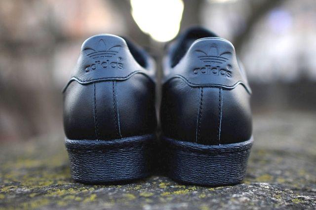 Adidas Originals Superstar 80 Metal Toe Black Gold 4