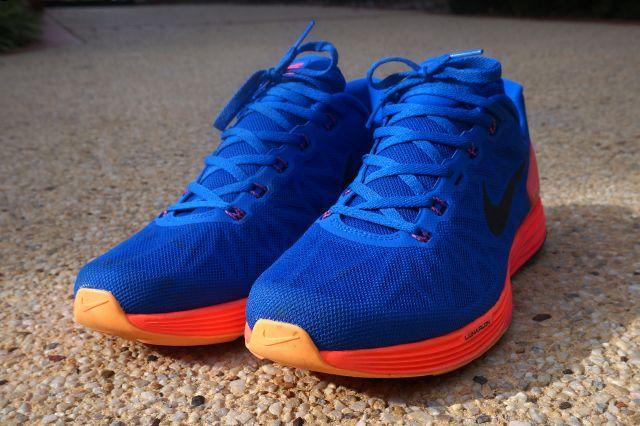 Nike Lunarglide 6 Blue Orange Yellow 3