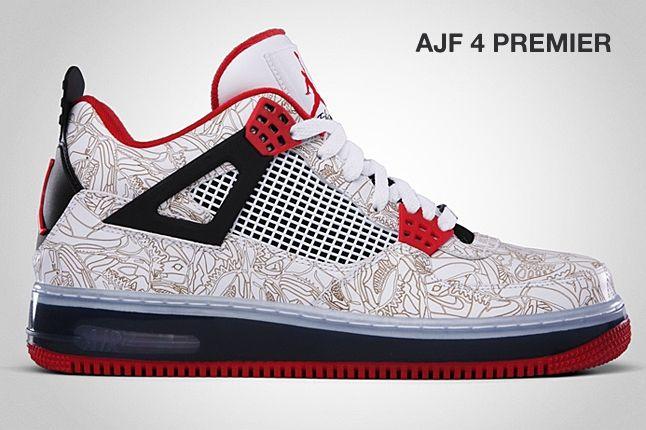 Jordan Aj4 Premier Laser 1