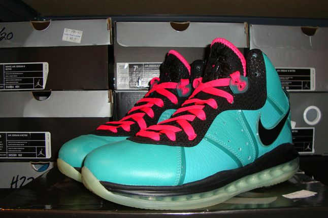 Rebecca Dahms Wmns Basketball Collection Nike Air Zoom Le Bron 8 South Beach 1