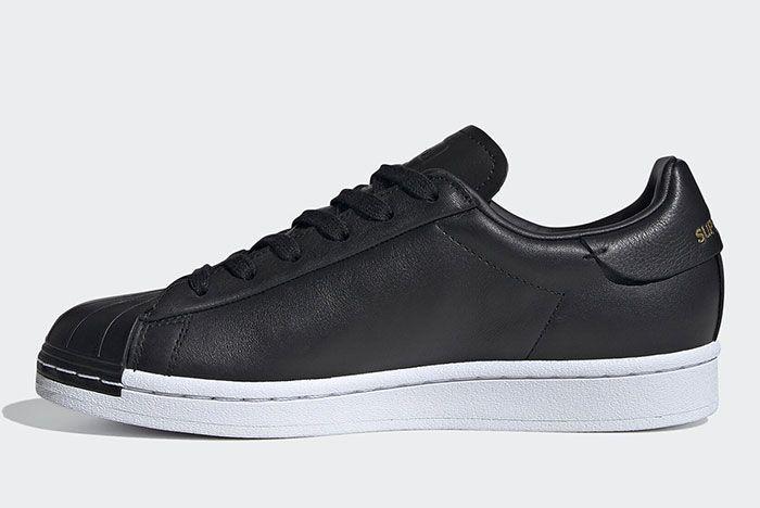 Adidas Stan Smith Black Fv3353 Medials Side Shot