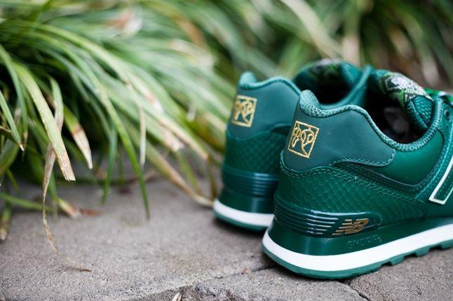 Nb Yots Green Heel Detail 1