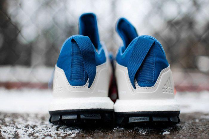 Adidas Response Trail Boost Core Blue Energy Orange 6