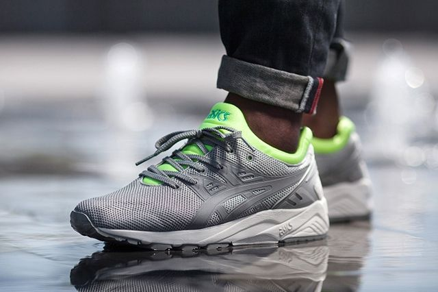 Asics Tiger Gel Kayano Trainer Evo Lime Green 1