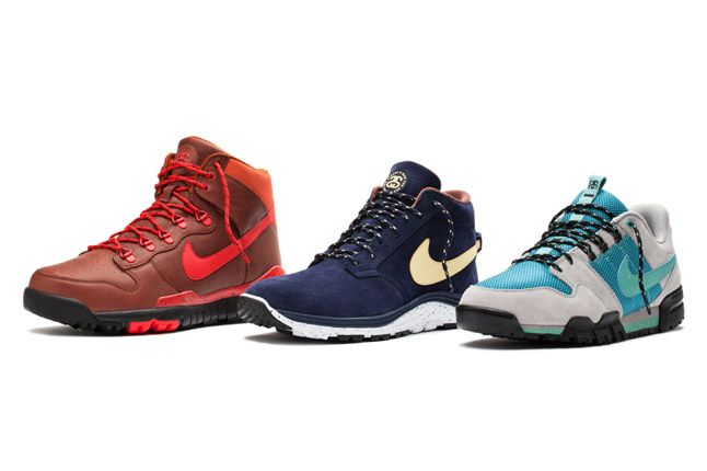 Nike X Stussy Ss Off Mountain Series Shoes 1