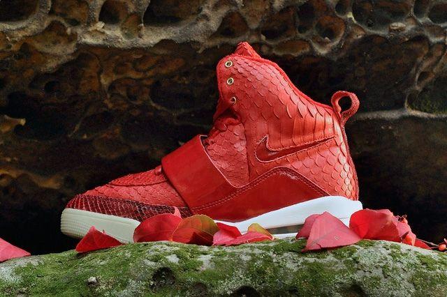 Jbf Customs Nike Air Yeezy 1 Red October 8