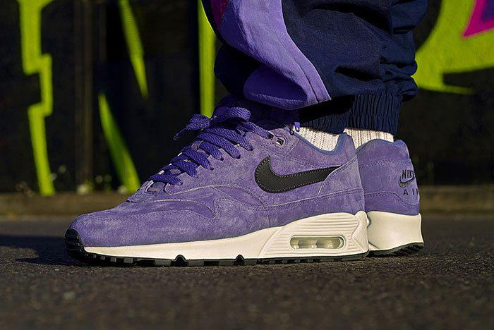 Nike Air Max90 1 Purple Suede