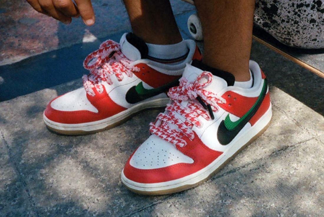 Frame Skate x Nike SB Dunk Low 'Habibi' hero