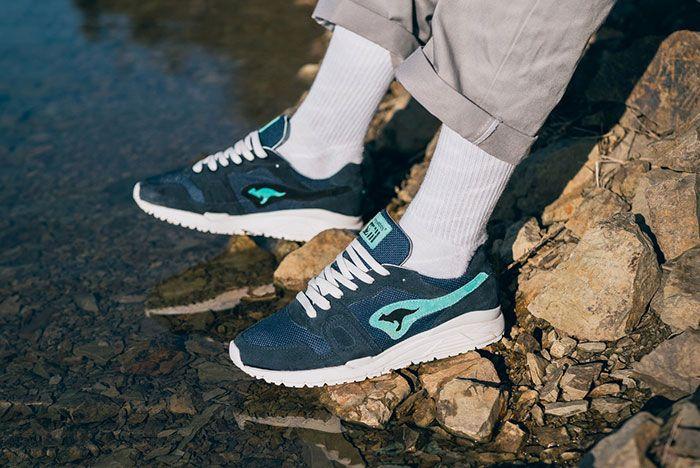 Bracenet Kangaroos Omnirun Ocean 72 Pair5 On Foot