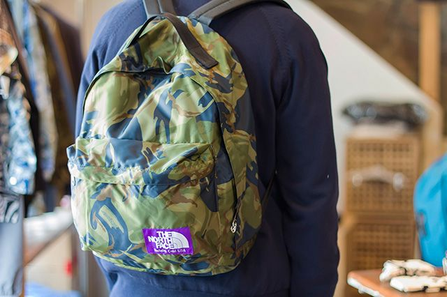 The North Face Purple Label Camo Bag Collection