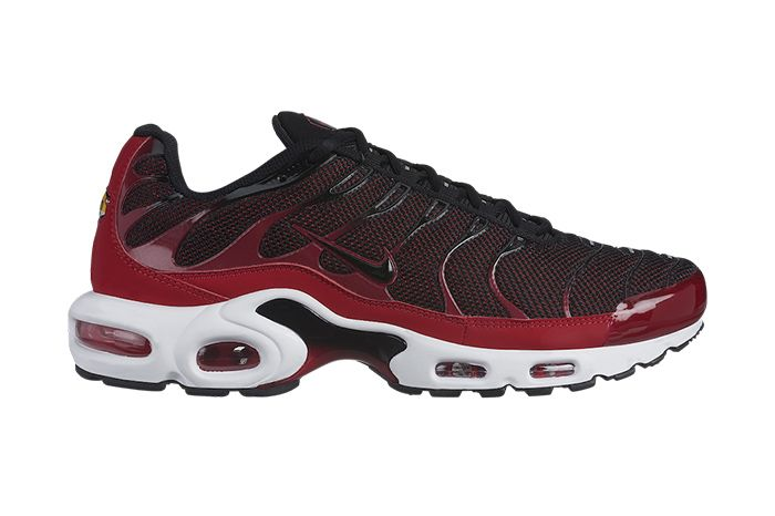Nike Air Max Plus Red Black 852630 604 Release Date Lateral