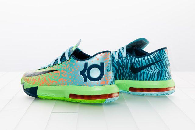 Nike Kd Vi Liger Heel2