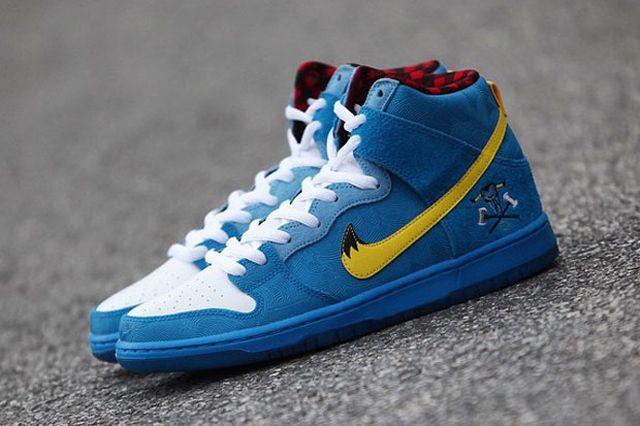 Familia Skates Nike Sb Dunk High Blue Ox 02
