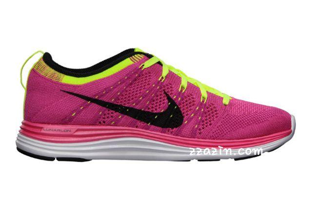 Nike Wmns Flyknit Lunar1 Pink Volt 1