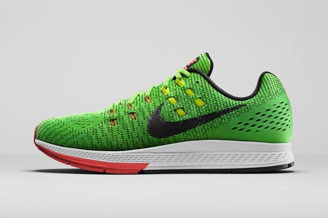 Nike Air Zoom Structure 19 Lime Green 1