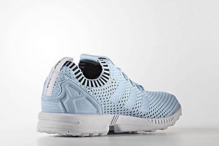 Adidas Zx Flux Primeknit Baby Blue 2