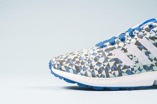 Adidas Zx Flux Weave Ocean Blue 31