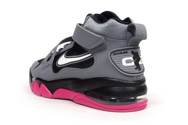 Nike Air Force Max Cb2 Hyperfuse Grey Vivid Pink 4