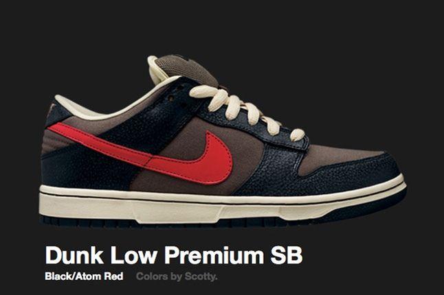 Nike Atom Red Dunk Low Premium Sb 2008 3