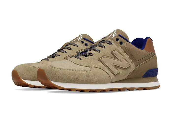 New Balance 574 Collegiate Pack Beige 3
