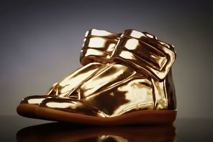 Asap Rocky Margiela Gold Mirrors