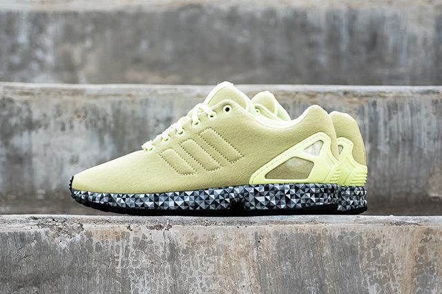 Adidas Zx Flux Frost Yellow
