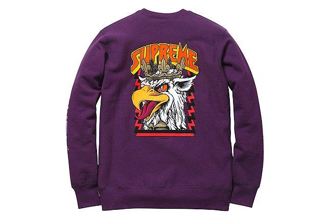 Supreme Cliver Sweatshirt Logo 1