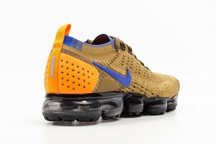 Nike Air Vapormax Flyknit Golden Beige 2