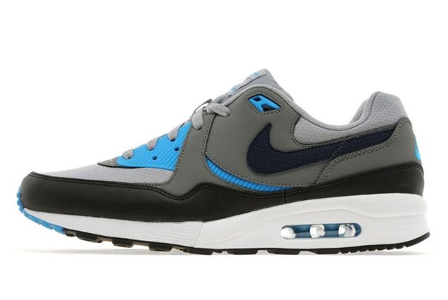 Nike Air Max Light Base Grey Light Blue 01