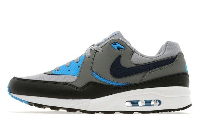 Nike Air Max Light Base Grey Light Blue 01