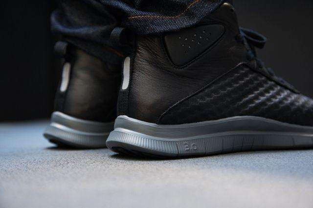 Nike Free Hypervenom Black Dark Grey 4