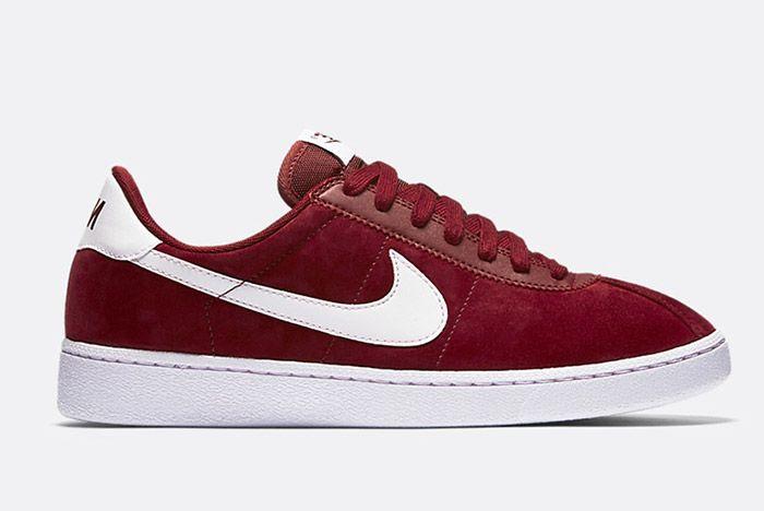 Nike Bruin Suede Burgundy 1