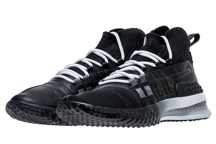 Ua Project Rock 1 Black White 4 Sneaker Freaker