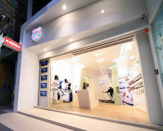 K Swiss Concept Store Taipei 1