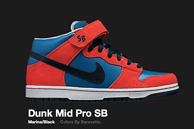 Nike Marina Dunk Mid Pro Sb 2008 1