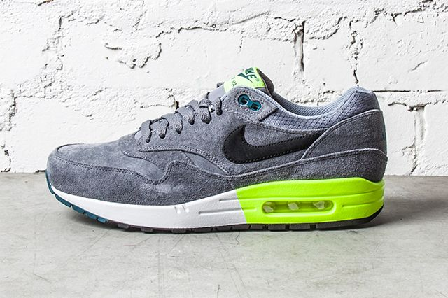 Nike Air Max 1 Premium Grey Volt