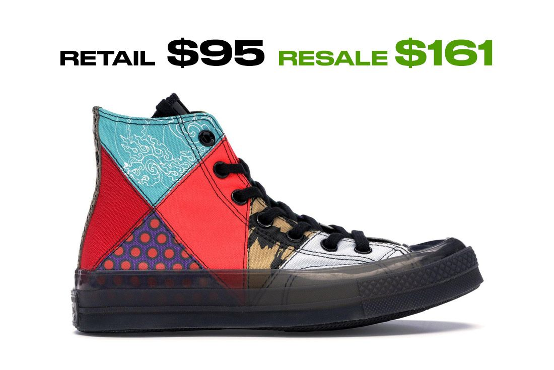 Converse Chuck Taylor All Star 70S Hi Chinese New Year Right Side Shot
