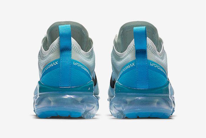 Nike Air Vapormax 2019 Barely Grey Ar6632 003 Heel Shot 2