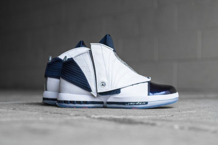 Air Jordan 16 Midnight Blue
