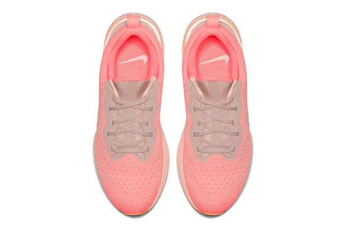 Nike Odyssey React Olive Pink 4