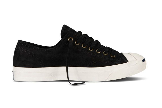 Converse Jack Purcell Washed Suede Sideview2