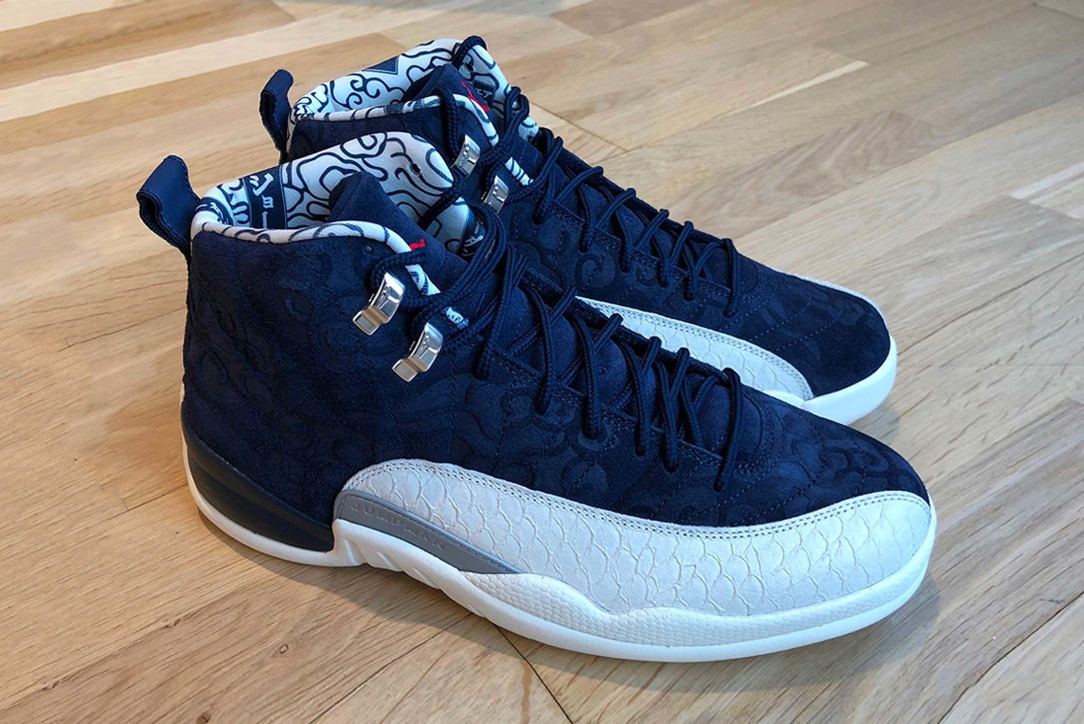 Air Jordan 12 International Pack First Look Release 002 Sneaker Freaker