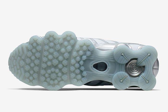 Nike Shox Tl Pure Platinum Chrome Av3595 003 Sole
