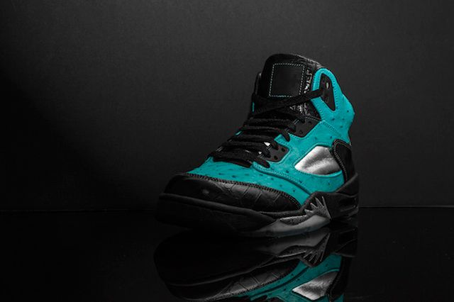 Custom Air Jordan 5 Tiffany Jbf Customs 1